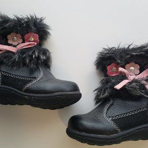 *3 for $20* Black Furry Boots